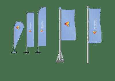 Fahnen & Flaggensysteme